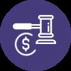 Conciliación administrativa, Caja, facturación de honorarios