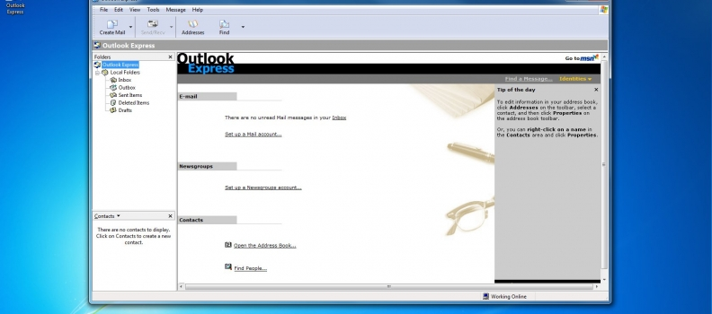 Configurar mail en Outlook Express